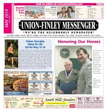 union finley messenger may 2010 by south hills mon valley