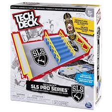 Tech Deck Blind Skateboards Tech Deck U2013 Sls Pro Series Skate Park U2013 Handrail With Hubba And