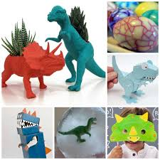 dinosaur activities kids growing jeweled rose