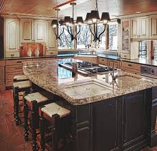 kitchen island with sink and dishwasher and seating the best