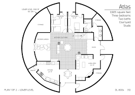 Monolithic Dome Home Floor Plans by Floor Plan Dl 6004 Monolithic Dome Institute