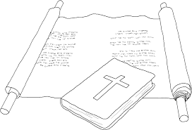 coloring bible scroll