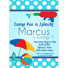 Pool Party Ideas Kids Pool Party Invites Home Party Ideas
