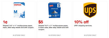 staples black friday coupon new staples coupons free paper shredding 0 01 ream of paper