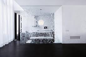interior glass walls for homes kitchen glass wall panels designs chic half glass black interior