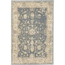 Blue Grey Area Rug 2 X 4 Area Rugs Rugs The Home Depot