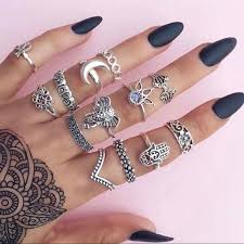 all fingers rings images Jewelry awesome rings for all fingers set of 13 rings poshmark jpg
