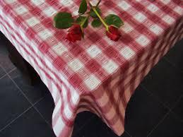 cotton seersucker tablecloth kitchen dining room garden check