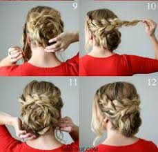 fashion forward hair up do easy flower braid up do hair style pinterest hair style and