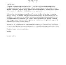 fresh hr cover letter 11 best hr coordinator examples cv resume
