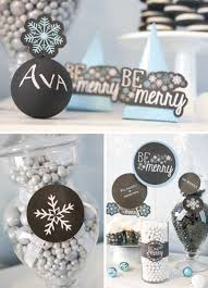 Black And White Candy Buffet Ideas by Candy Buffet Ideas Big Dot Of Happiness
