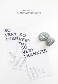 printable thanksgiving menus almost makes