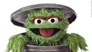 Oscar The Grouch Meme - image oscar the grouch trash can closeup jpg grouches wiki