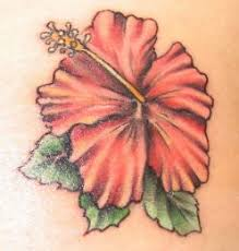 hawaiian flower tattoo designs type tattoos