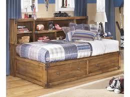 ashley signature design delburne twin bookcase bed with