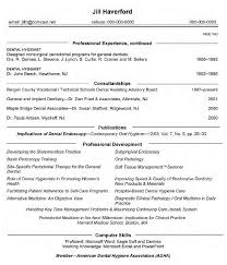 dental assistant resume pertaining to 19 appealing template for