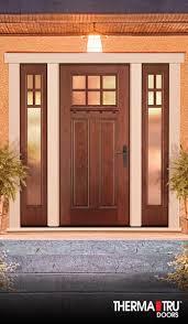 best fiberglass door made in canada home decor window door therma tru fiber classic mahogany collection fiberglass door with