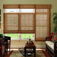 sliding glass door blinds home depot bamboo shades u0026 natural shades shades the home depot