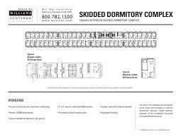 Dormitory Floor Plans Dormitory Complexes Algeco Pdf Catalogues Documentation