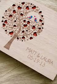 Rustic Wedding Albums Custom Wedding Guest Book Wood Rustic Wedding Guest Book Album