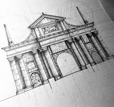 235 best arch sketches images on pinterest draw architecture