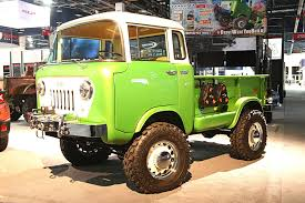 jeep fc 150 back for the attack more mopars from sema tensema16 rod