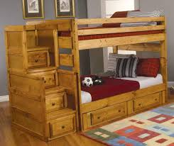 bunk beds stairs for loft access jordan twin over full bunk bed