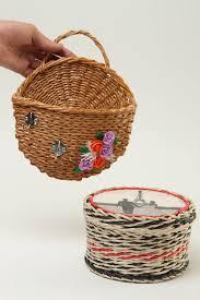 madeheart u003e homemade home decor paper basket key holder wall decor