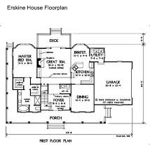 floorplan of a house new river gorge preserve erskine house