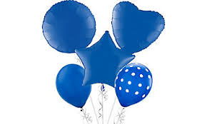 foil u0026 latex balloons in solid colors party city