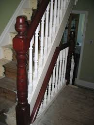 Painting Banisters Ideas Stair Classy Picture Of Interior Stair Decoration Using Solid