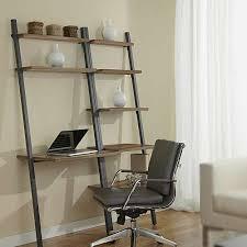 parsons ladder desk with bookcase u0026 jesper office yliving