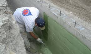 Interior Basement Wall Waterproofing Membrane Spray On Waterproofing For Below Grade Basement Foundation Wall