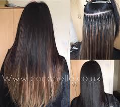 Brazilian Extensions Hair by Russian Brazilian Indian Virgin Remy Micro Nano Rings Fusion