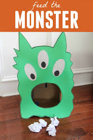 halloween birthday party games feed the monster game for toddlers monster games and monsters