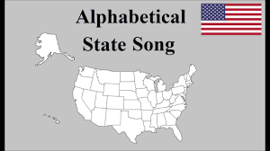 All Fifty States Alphabetical Us State Song Youtube