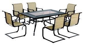 Hampton Bay Woodbury 7 Piece Patio Dining Set - 54 hampton bay patio furniture hampton bay clairborne 4 piece