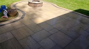 Travertine Patio Travertine Patio Upgrade In Granville Ohio Iden Design