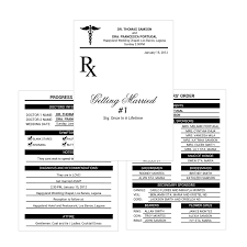 doctor u0027s medical prescription pad wedding invitation do it