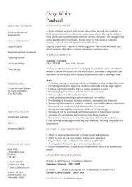 Personal Injury Paralegal Resume Sample Sample Paralegal Resumes Litigation Paralegal Resume Samples
