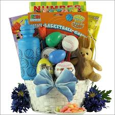 sports gift baskets egg streme sports easter gift basket for boys ages 6 to 9 years