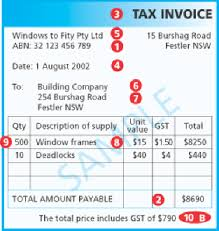 handling australian gst requirements for payables transactions in