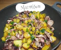 cuisiner le poulpe recettes poulpe à la gallego poulpe de galice recette de poulpe à la