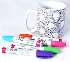 mug design ideas diy sharpie mug polka dot mug