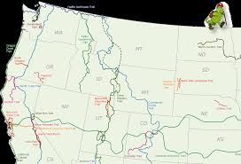North Western United States Map by United States