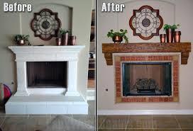 diy faux fireplace mantel shelf build over stone legs