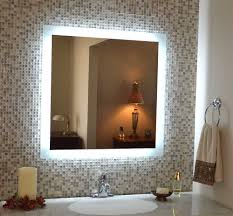 Amazon Vanity Mirror Amazon Com Wall Mounted Lighted Vanity Mirror Led Mam84032 Also