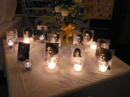 ideas for class reunions in memory of candle reunion i really this idea class