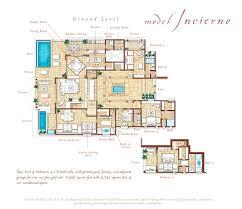 floor plan invierno four seasons private villas at the punta