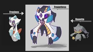 Favorite Pokemon Meme - i felt like trying to fuse two of my favorite pokemon froslass